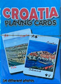 PLAYING CARDS, 54 Different Photos of Croatian Locations, Imported from Croatia: NEW!  SOLD OUT!