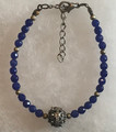 Botun Purple Color Bead Bracelet: NEW!