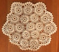 Handmade Crocheted Lace from the Estate of a Croatian Family: Delicate 18 Floral Design