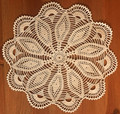 Handmade Crocheted Lace from the Estate of a Croatian Family: Stunning Design  SOLD!