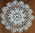 Handmade Crocheted Lace from the Estate of a Croatian Family:  White, Set of 2  SOLD!