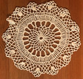 Handmade Crocheted Lace from the Estate of a Croatian Family: Delicate Circular Pattern: SOLD!