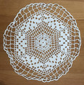 Antique White Doily with Amazing Detail!