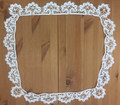 ANTIQUE White Lace Piece, all HANDMADE: NEW!
