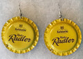 "KARLOVAČKO Earrings, ""Radler!"" Imported from Krk, Croatia! ONE-OF-A-KIND!"
