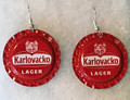 KARLOVAČKO Earrings, Lager,  Imported from Krk, Croatia! ONE-OF-A-KIND! SOLD!