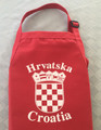 *Apron ~ Croatian Grb (Crest) ~ RED with 2 pockets