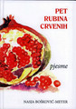 "POETRY BOOK:  ""Pet Rubina Crvenih"" (""Five Red Rubies"") by Nasja Boskovic-Meyer,  FREE SHIPPING!"