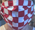 *MASK, Croatian-Style, Sahovnica (Croatian Checkerboard) #1: RE-STOCKED!