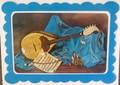 """""""TAMBURICA"""" Greeting Card from an Original Oil by MARIJANA: NEW!"""