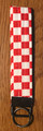 "*ŠAHOVNICA (Croatian Checkerboard) KEY FOBS Created by ""Hrvatska Designs""! NEW! SOLD OUT!"