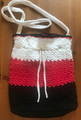 "*Hand Crocheted Handbag, ONE-OF-A KIND, Created by ""Hrvatska Designs"" using Croatian Costume COLORS! NEW! SOLD!"