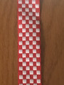 Šahovnica (CHECKERBOARD) Ribbon, 10 yards for $12.50: NEW!