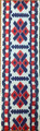 *BOOKMARKS, Handmade with Woven Textiles from Croatia! (Red & Blue): NEW!