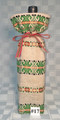 WINE and GIFT BAG, Handmade with Woven Textiles from Croatia: NEW! (#17)