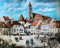 """""""Zagreb Harmica 1860"""" Vintage Prints Available in 3 Sizes! NEW at Heart of Croatia! (6 x 7 & 5/8)"""