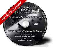2012 Restoring The Foundations International Advanced Conference Mp3 Download