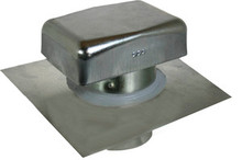 Metal Roof Vent Cap With Extended Clearance (4 Inch)    (JV428 HC)