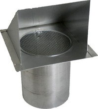 Aluminum Wall Vent with Screen For Air Intake (8 Inch) (SWVA 8 )