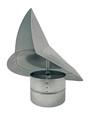 Wind Directional Cap - Galvanized - 8 Inch (WDC8)