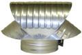 Vacuum Cap - Galvanized - 6 Inch (GVC426)