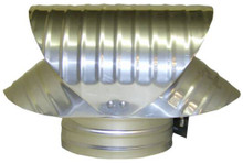 Vacuum Cap - Galvanized - 8 Inch (GVC826)