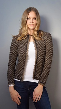 Classic Cardigan with Top Hook Enclosure (Available in 4 Colors)