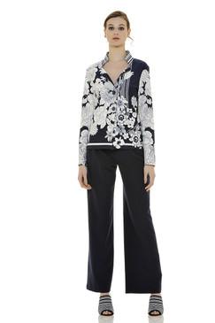 Flattering Floral Print Jacket