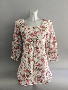 Lightweight Floral Tunic