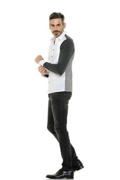 Mix and Match Cotton Jersey Shirt