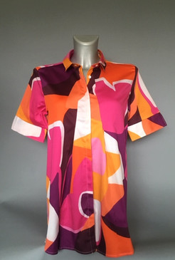 Geometric Multi Colored Blouse