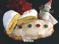 Danish Stollen - Glazed