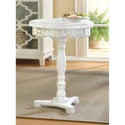 FLOURISH PEDESTAL TABLE