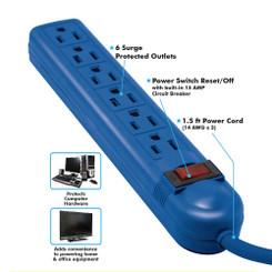 MONACO BLUE POWER STRIP
