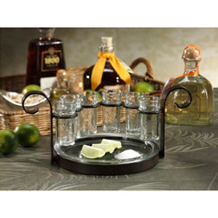 Fiesta Six Shot Tequila Set