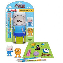 ADVENTURE TIME FINN TIN PENCIL SET