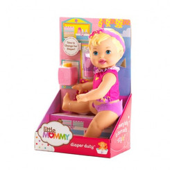 LITTLE MOMMY DIAPER DUTY DOLL