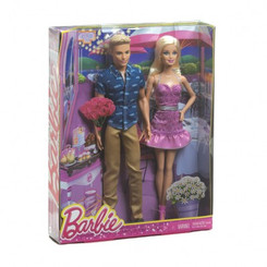 MATTEL BARBIE & KEN GIFT SET