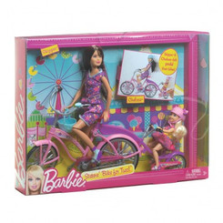 MATTEL BARBIE SISTERS BIKE FOR TWO