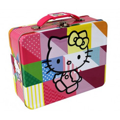 HELLO KITTY COLORS EMBOSSED CARRY ALL TI