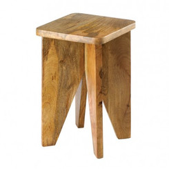 ARCADIAN WOOD STOOL