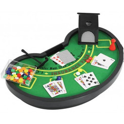 MINI BLACK JACK GAME SET