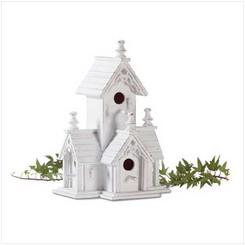 Wooden Victorian Birdhouse