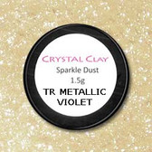 Tr Metallic Violet Sparkle Dust - 1.5g
