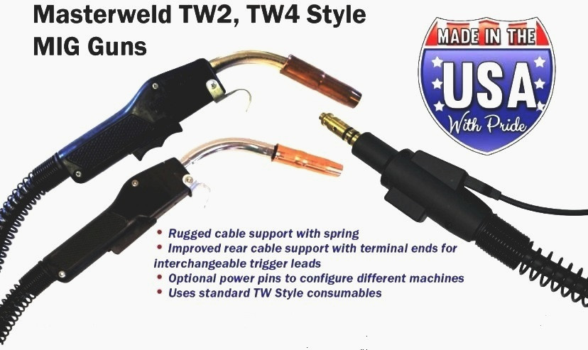 Tweco Mig Gun 4153545 1040-1103 New