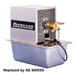 6500SS Bernard Weldcraft Water Cooler Replacement