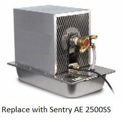 Replaced by Sentry AE 2500SS