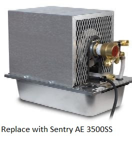 Replace by Sentry AE 3500SS