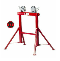 "B&B 4300 Roller Stand  32"" H. 1/2""- 36"" Pipe 2500 lbs"