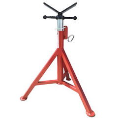 "B&B 4100 Pipe Jack Stand V Head 32""- 48"" H 12"" Pipe 2500 lbs"